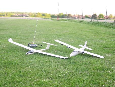 Fotos Modellflug Luftaufnahmen
